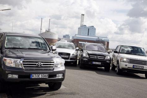 Vergleich V8-Diesel-Geländewagen