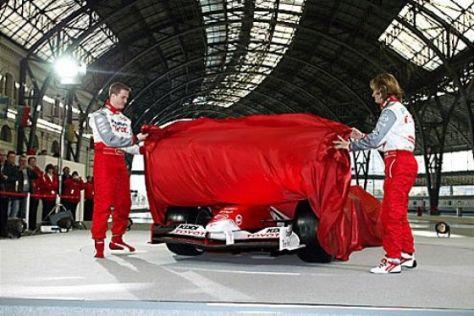 Neuer Formel-1-Bolide präsentiert