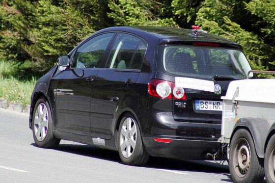 Erlkönig VW Golf VI Plus