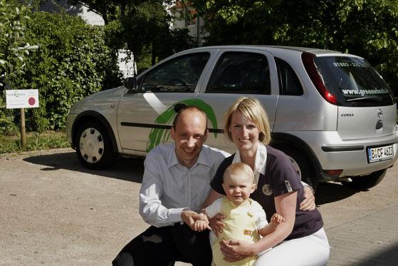 Familie Karnapp hat ihren alten Opel verschrottet und ist auf Car-Sharing umgestiegen.