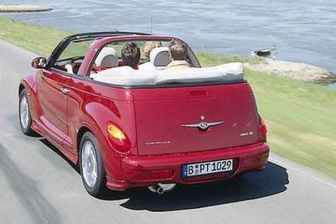 chrysler pt cruiser cabrio 2 4 limited. Black Bedroom Furniture Sets. Home Design Ideas