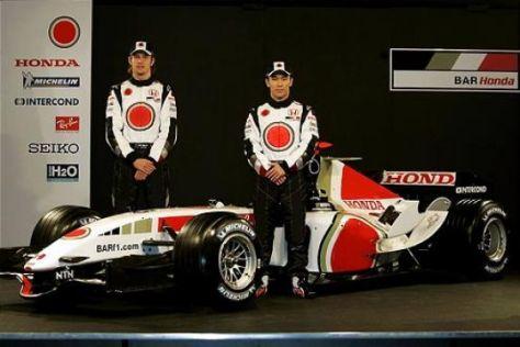 Der BAR-Honda für die neue Saison ist da