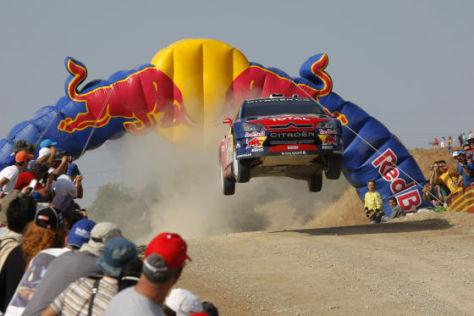 WRC Rallye Griechenland, S. Loeb,  Citroen C4 WRC