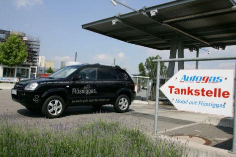 Hyundai Tucson mit Flüssiggas