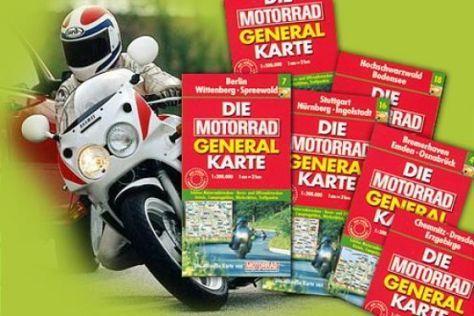 Motorrad-Karten