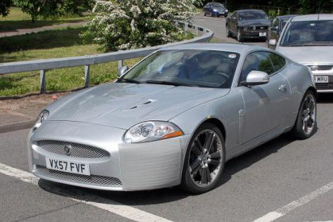 Erlkönig Jaguar XK Facelift