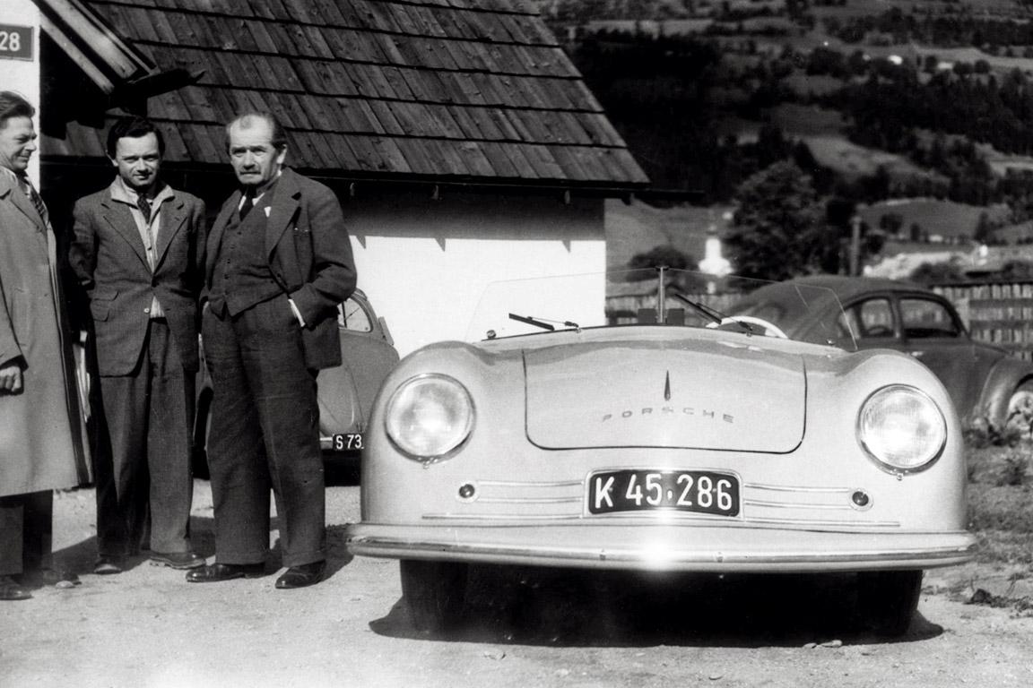 Blick Zur U00fcck Auf Porsche  Die Modelle Von 1950 Bis 2005