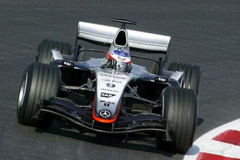 Mercedes neuer Formel-1-Renner