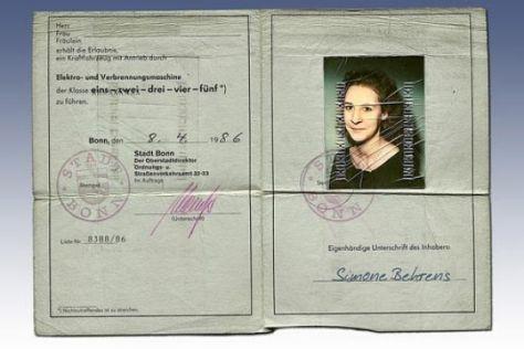 Neuer Führerschein