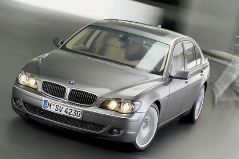 Facelift BMW 7er