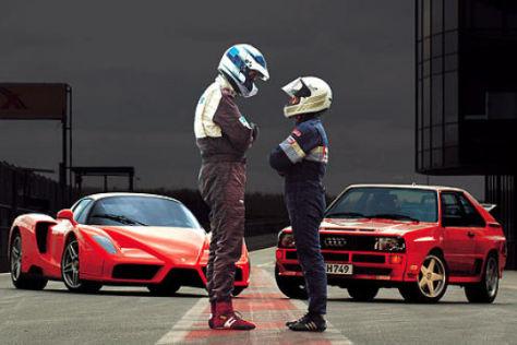 Ferrari Enzo gegen Hohenester Sport quattro