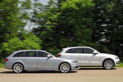 Audi A4 Avant 2.0 TDI  - Audi Q5 3.0 TDI