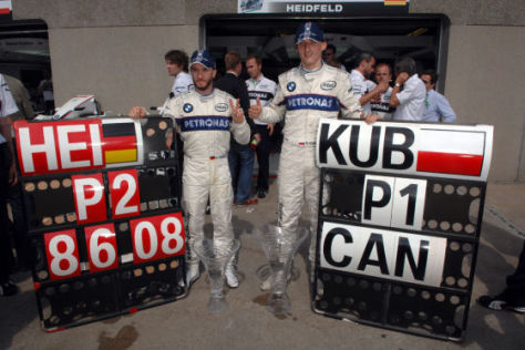 Formel 1, Montreal 2008, BMW-Doppelsieg