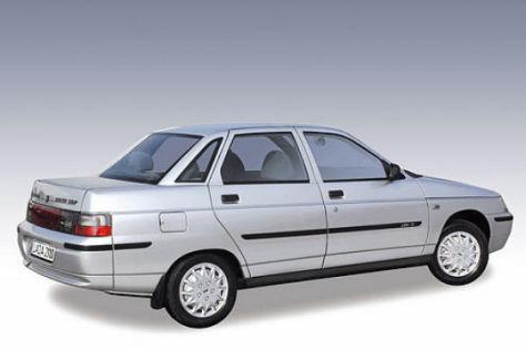 Modellpflege Lada 2110