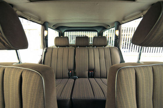 Innenraum Mercedes W 124 T