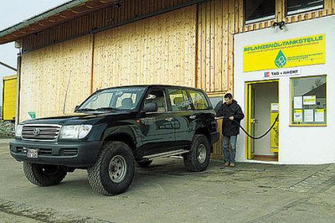 Toyota LandCruiser HZJ 105 Pflanzenöl