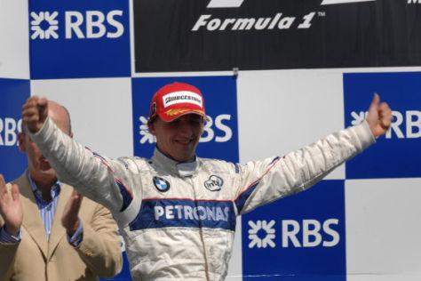 Formel 1, Montreal 2008, Sieger Robert Kubica, Sauber-BMW-F1-Team