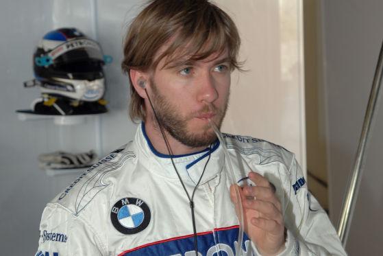 Formel 1, Montreal 2008, Sieger Robert Kubica, Sauber-BMW-F1-Team, mit Nick Heidfel, David Coulthard und Mario Theissen