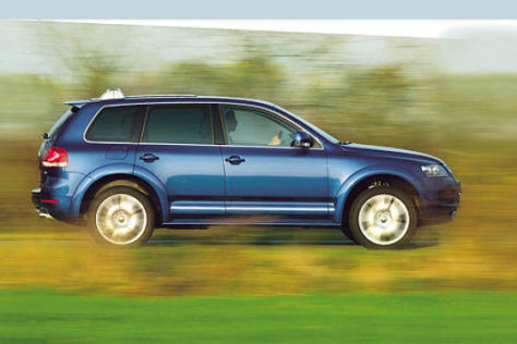 Fahrbericht VW Touareg W12 Sport