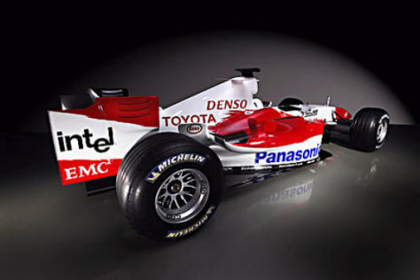 Toyota vor dem Formel-1-Start