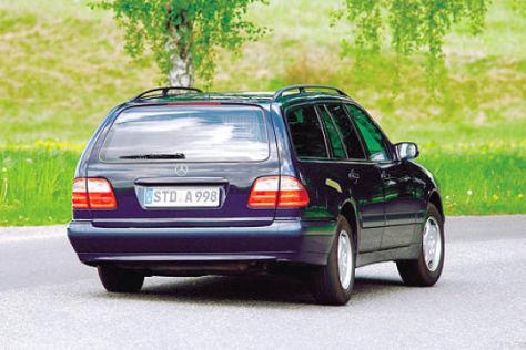 Mercedes Benz E Klasse T 1996 2003 autobild