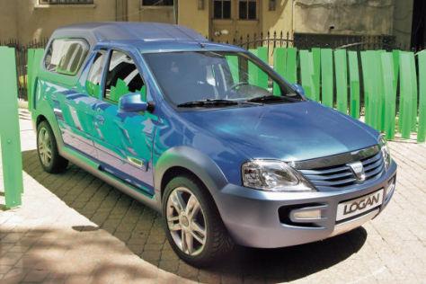 Dacia Pick-up-Studie