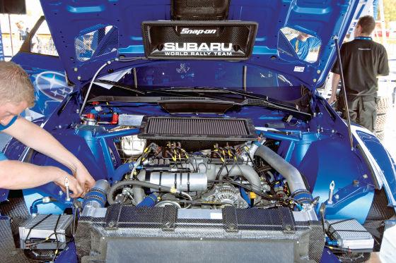 Subaru Impreza WRC 08, Motor