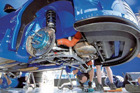 Subaru Impreza WRC 08, Vorderachse