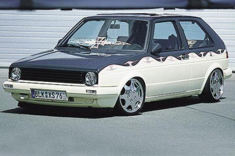 VW Golf II Fire&Ice