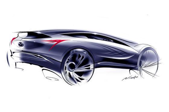 Mazda SUV Studie Moskau