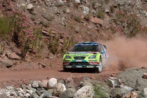 WRC Rallye Türkei 2008 Ford Focus WRC 08