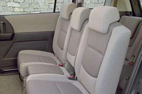 Sitzkonzept Mazda5
