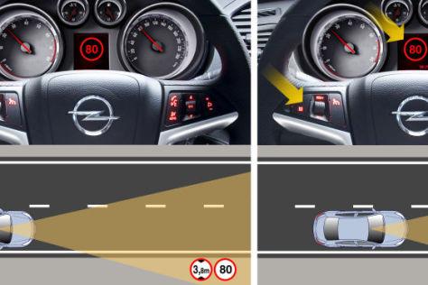 Opel-Asistenzsystem Opel-Eye