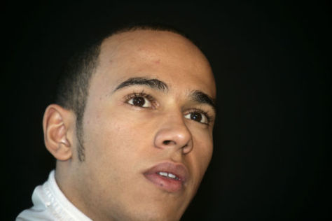 Lewis Hamilton, Formel-1-Team McLaren-Mercedes