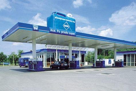 Tankstelle in Ploen