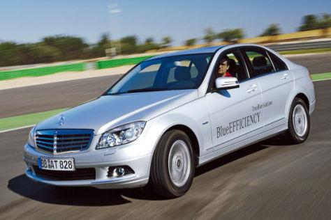Mercedes C-Klasse Blue Efficiency