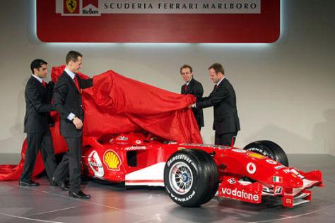 Ferrari präsentiert den F2005