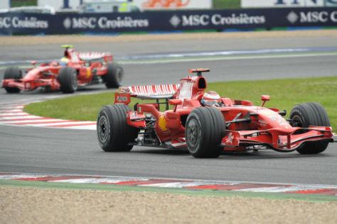 Formel 1 Rennwagen Felipe Massa 2008