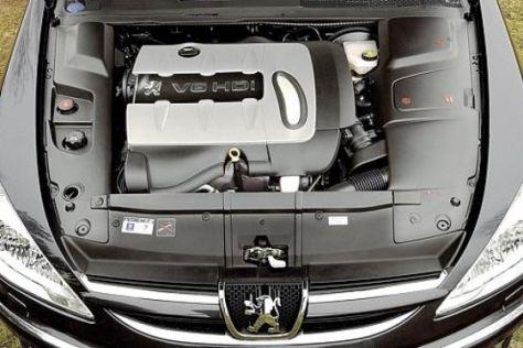 Peugeot 607 Sport V6 HDi FAP 205