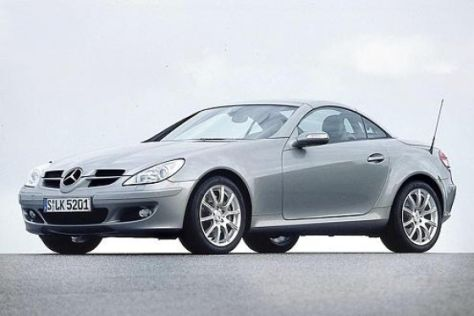 Test Mercedes-Benz SLK 350