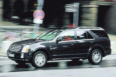 Test Cadillac SRX V8