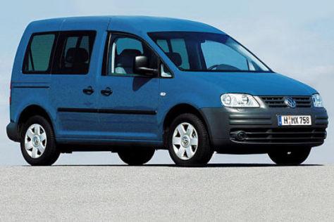 VW Caddy Life gegen VW Touran