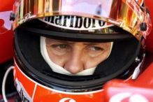 Schumi down under, Fisichella vorn