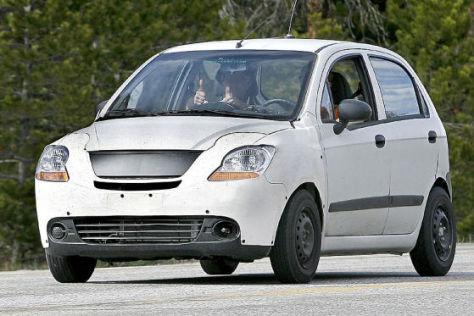 Erlkönig Chevrolet Matiz