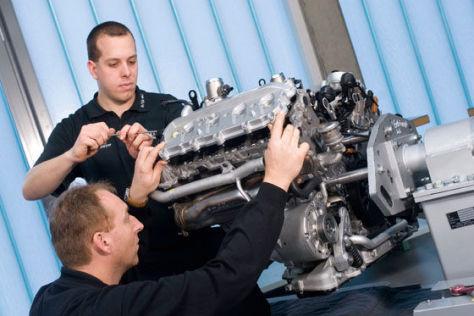 Motorentwicklung bei Audi