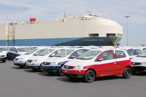 VW-Verschiffung Emden