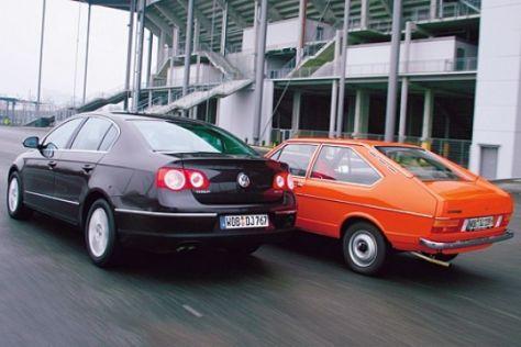 Fahrbericht VW Passat (1973 und 2005)