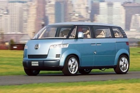 VW T5, Microbus und Pick-up