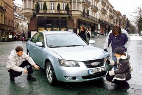 Fahrbericht Hyundai Sonata 2.4 GLS