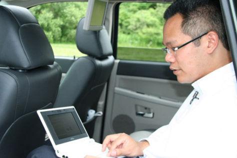 Internetzugang im Auto bei Chrysler